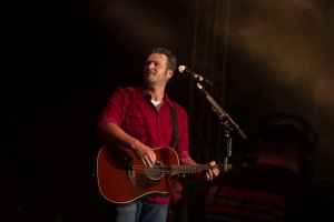 Blake Shelton at Gulf Coast Jam Photo by Susan Michal
