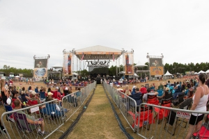 Main Stage at Gulf Coast Jam  Photo by Susan Michal