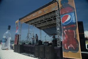 Gulf Coast Jam Beach Stage Southern Sound and Lighting