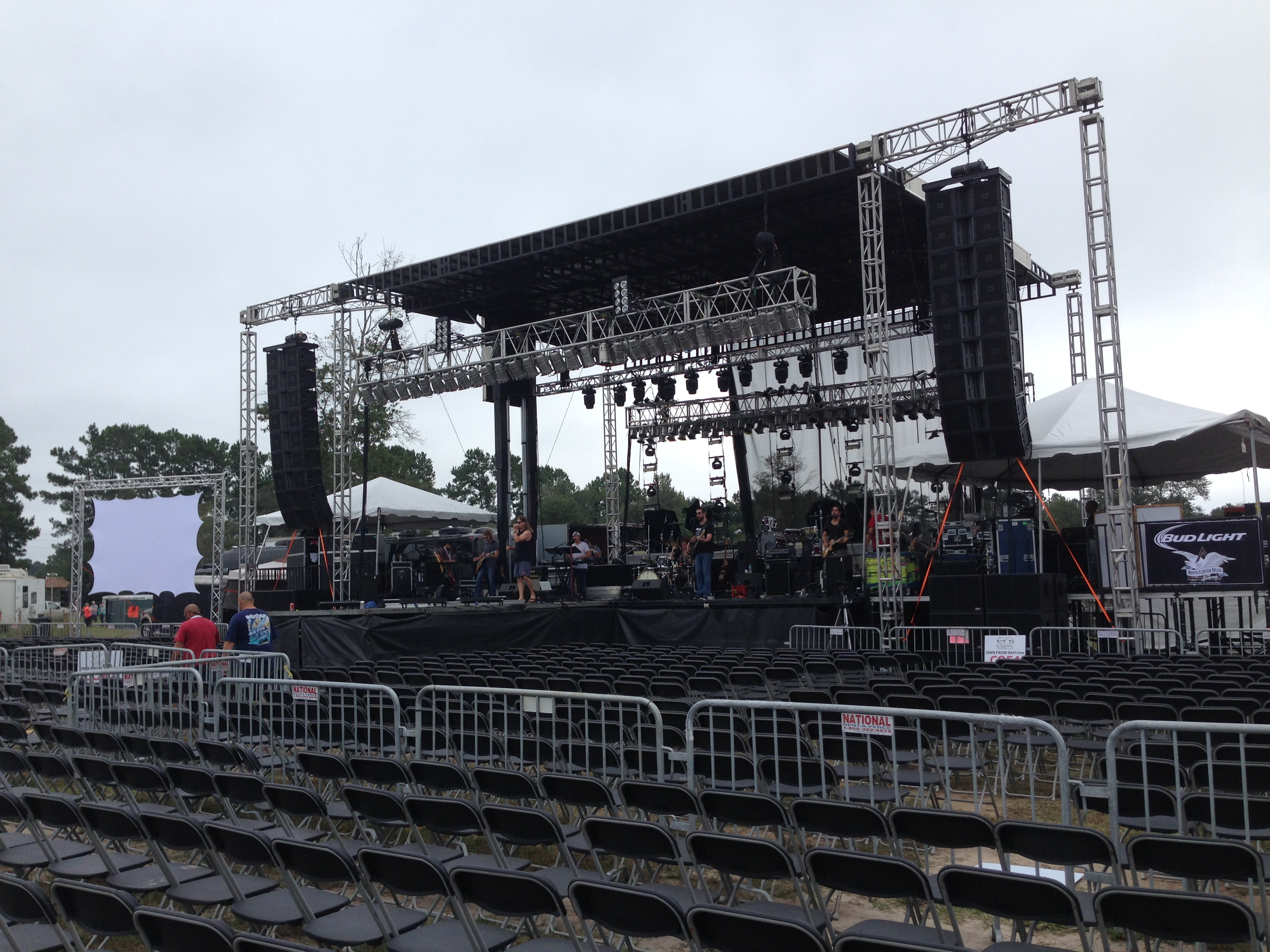 Stage Rentals For Concerts | Southern Sound and Lighting